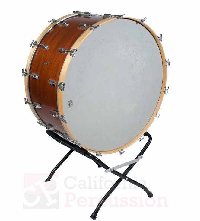 Concert Bass Drum Rental – Rogers 34 x 16