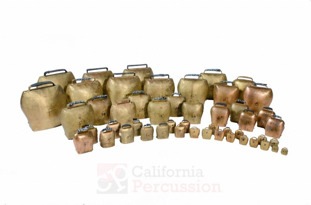 Tuned Almglocken Rental 4 octaves F3-F7