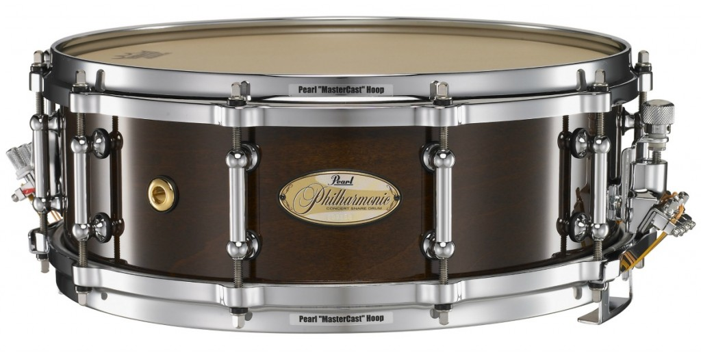 Snare Drum Rental – Pearl Philharmonic 5 x 14 Solid Maple