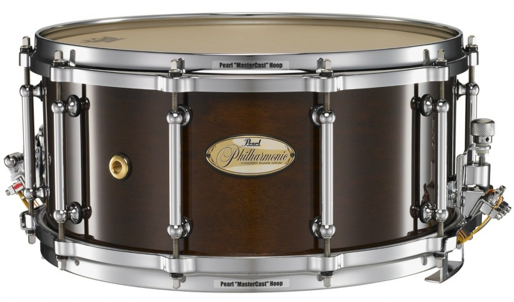 Snare Drum Rental – Pearl Philharmonic 6.5 x 14 Maple
