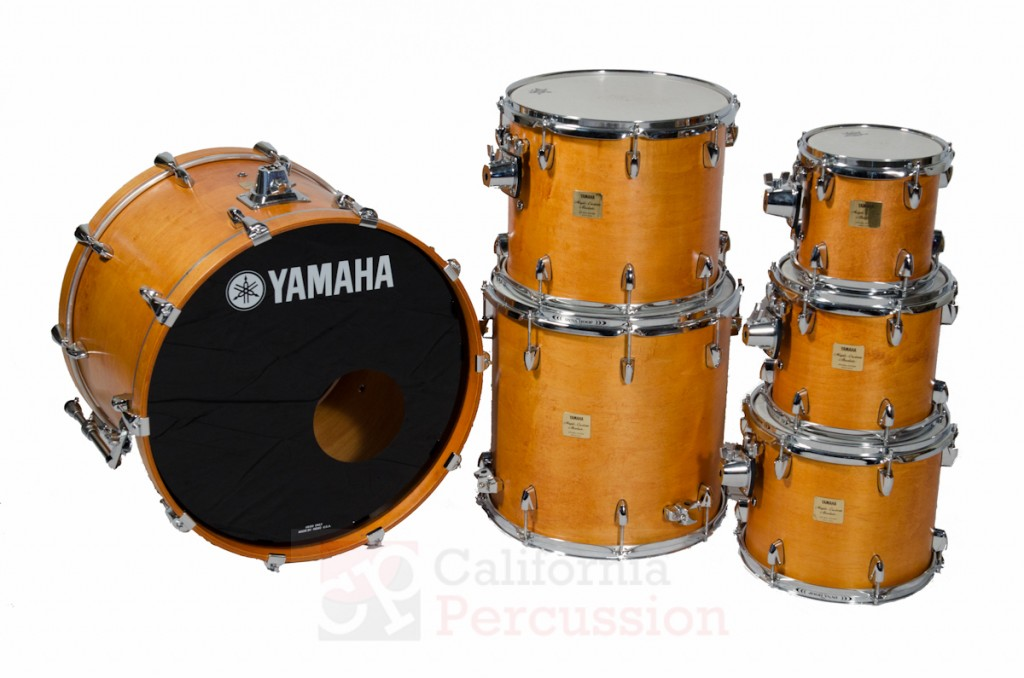 Drum Set Rental – Yamaha Absolute Maple – Vintage Natural