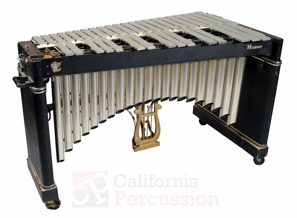 Vibraphone Rental – Musser Vintage 1960s M75 – 3 octaves F3-F7