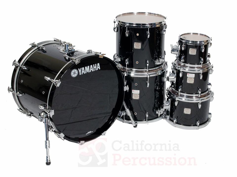 Drum Set Rental  – Yamaha Birch Absolute – Piano Black