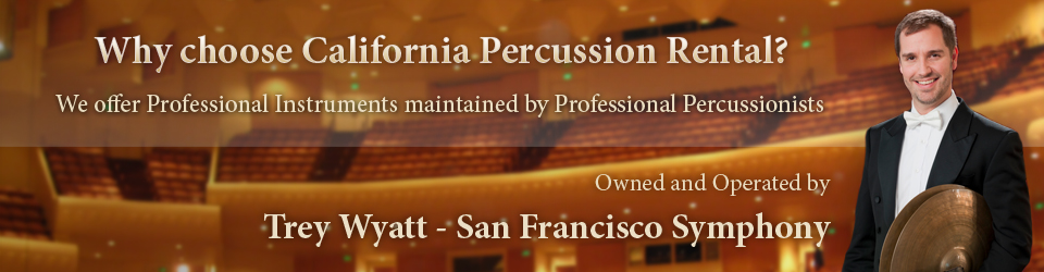 California Percussion Rental