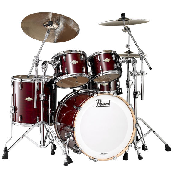 Drum Set Rental – Pearl MCX Masters – Vintage Wine